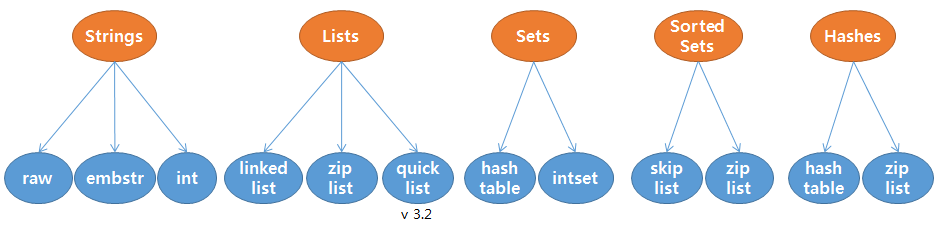data type and data structure relation diagram